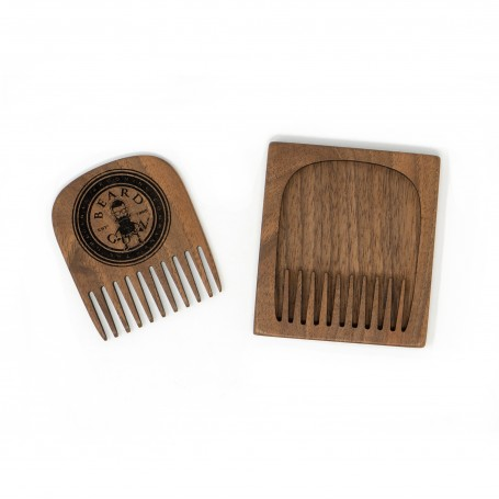 Wood Pick Style Comb