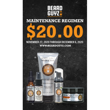 Beard Guyz Maintenance Regimen